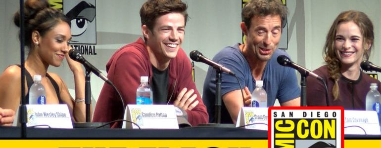 the flash comic con flashpoint