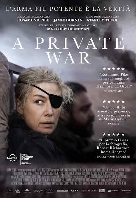 Il poster di A Private War
