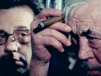John Huston e Peter Bogdanovich