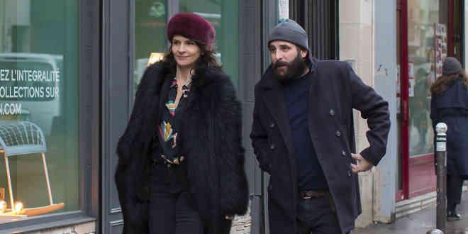 Juliette Binoche e Vincent Macaigne ne Il gioco delle coppie