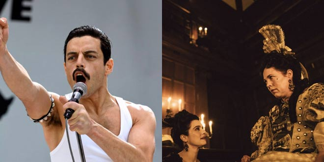 Oscar 2019: Bohemian Rhapsody e The Favourite