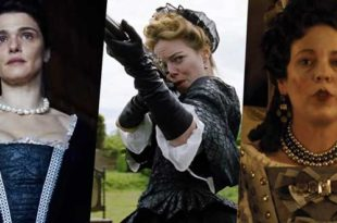 Rachel Weisz, Emma Stone e Olivia Colman in The Favourite