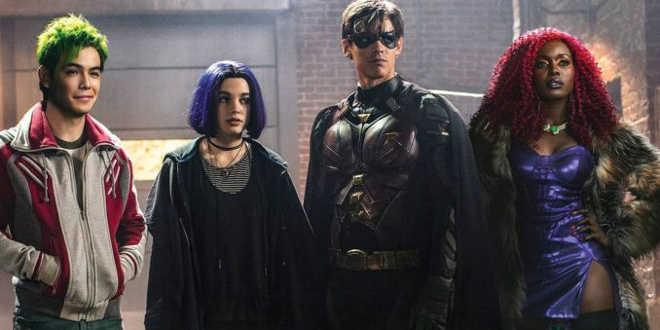 Il cast di Titans