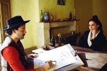 Gauguin durante una seduta di ritratto