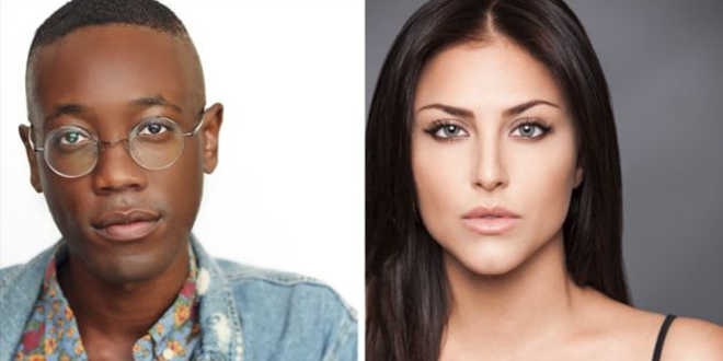 Adwin Brown e Victoria Pedretti nel cast di You