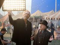 Danny DeVito e Tim Burton