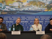 Il cast di The Operative alla Berlinale 69