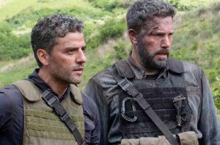 Oscar Isaac e Ben Affleck in Triple frontier