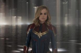 Una scena di Captain Marvel