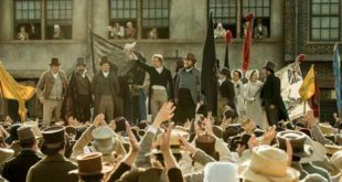 Una scena di Peterloo