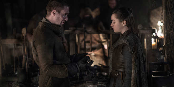 Game of Thrones Arya e Gendry