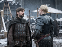 Jaime e Brienne in Game of Thrones