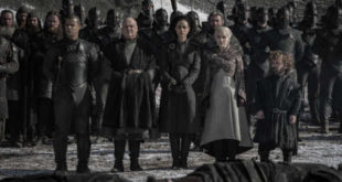 Una scena di Game of Thrones