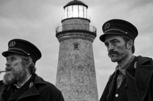 Robert Pattinson e Willem Dafoe in The Lighthouse
