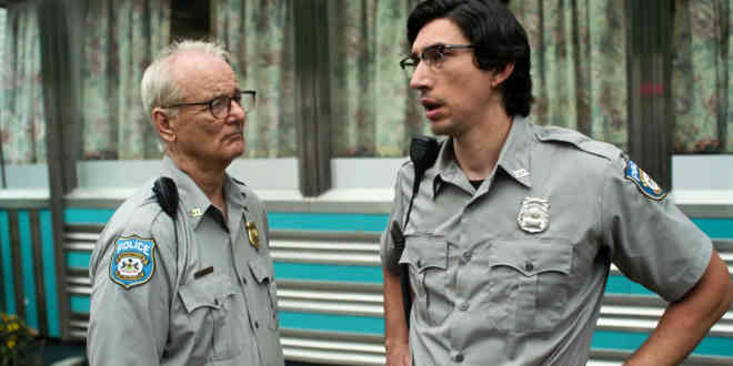 Bill Murray e Adam Driver in The dead don't die