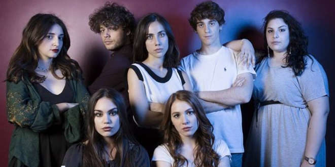 Il cast di SKAM ITALIA