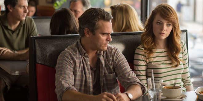 Joaquin Phoenix e Emma Stone in Irrational Man