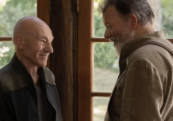 Una scena di Picard