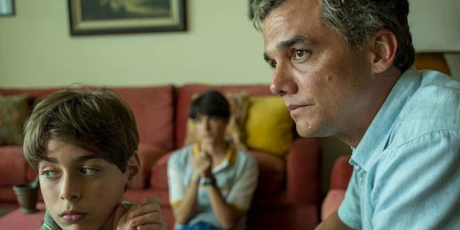 Una scena di Sergio con Wagner Moura
