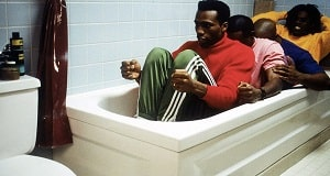 Una scena di Cool Runnings