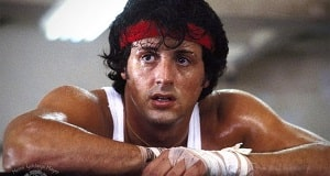 Una scena di Rocky