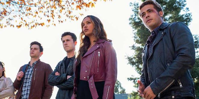 Una scena della quarta stagione di Tredici su Netflix
