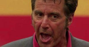Al Pacino in uno dei discorsi motivazionali al cinema